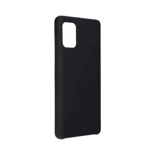 Forcell Silicone Coque Pour Samsung Galaxy A71 Noir