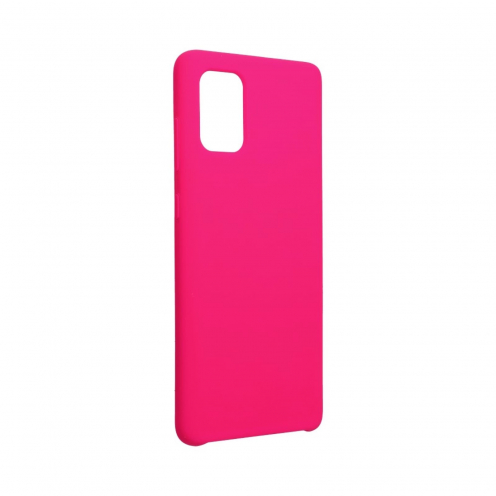 Forcell Silicone Coque Pour Samsung Galaxy A71 hot Rose