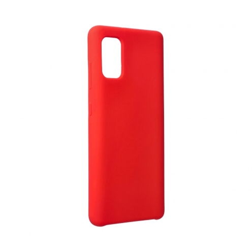 Forcell Silicone Coque Pour Samsung Galaxy A41 Rouge