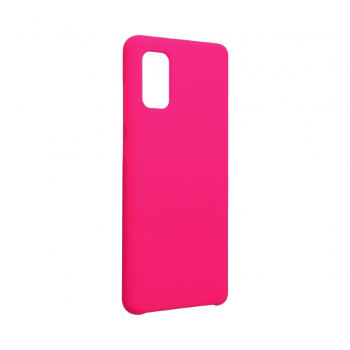 Forcell Silicone Coque Pour Samsung Galaxy A41 hot Rose