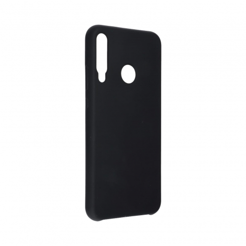 Forcell Silicone Coque Pour Huawei P40 Lite E Noir