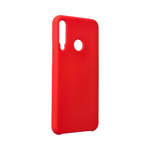 Forcell Silicone Coque Pour Huawei P40 Lite E Rouge