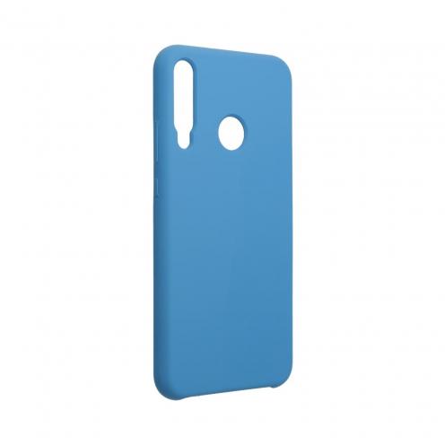 Forcell Silicone Coque Pour Huawei P40 Lite E Bleu