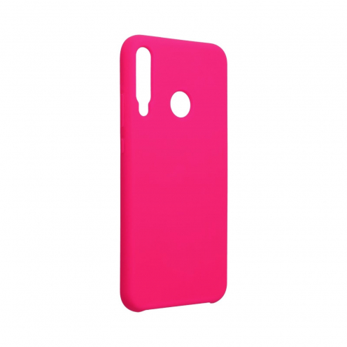Forcell Silicone Coque Pour Huawei P40 Lite E Rose Hot