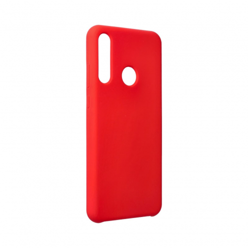 Forcell Silicone Coque Pour Huawei Y6P Rouge