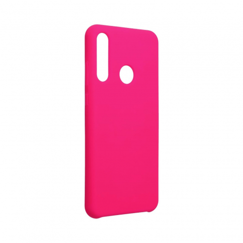 Forcell Silicone Coque Pour Huawei Y6P Rose Hot