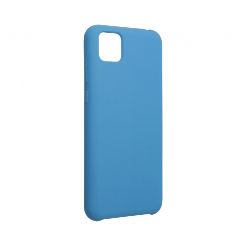 Forcell Silicone Coque Pour Huawei Y5P Bleu