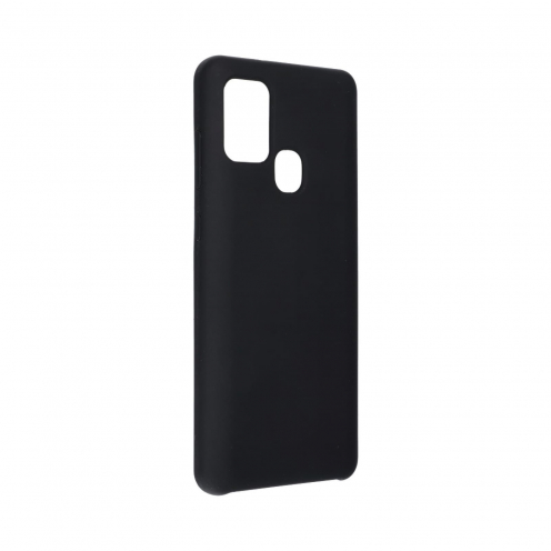 Forcell Silicone Coque Pour Samsung Galaxy A21S Noir