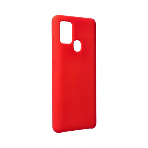 Forcell Silicone Coque Pour Samsung Galaxy A21S Rouge