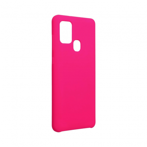 Forcell Silicone Coque Pour Samsung Galaxy A21S hot Rose
