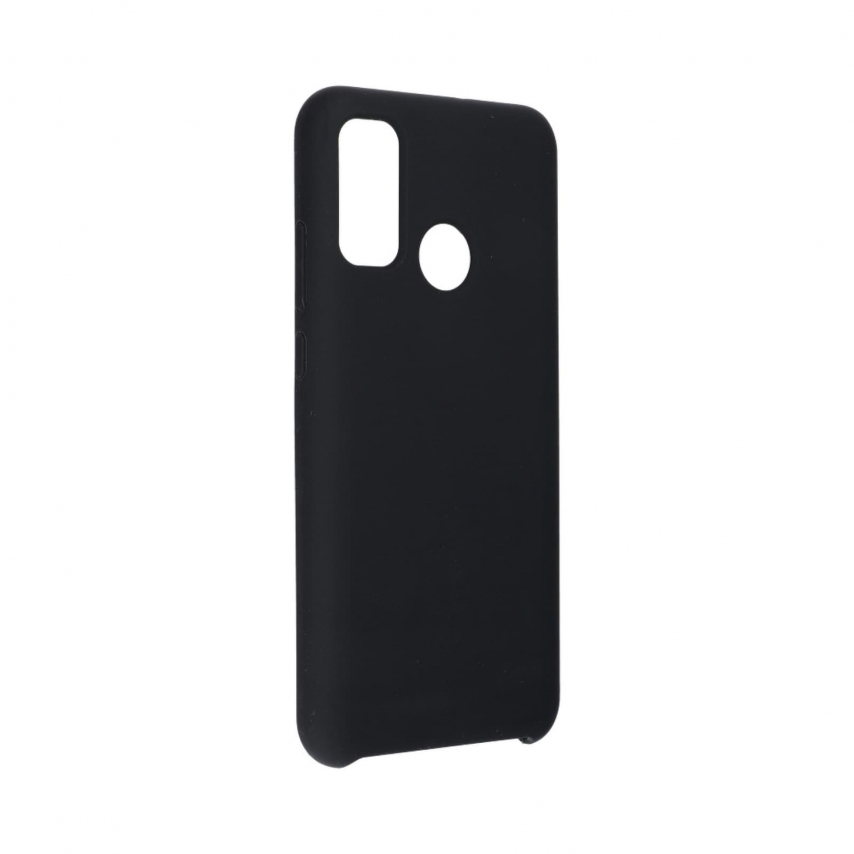 Forcell Silicone Coque Pour Huawei P Smart 2020 Noir