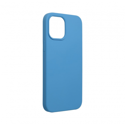 Forcell Silicone Coque Pour iPhone 12 PRO MAX Bleu Marine