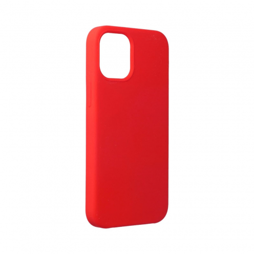 Forcell Silicone Coque Pour iPhone 12 MINI Rouge