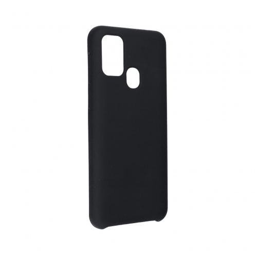 Forcell Silicone Coque Pour Samsung Galaxy M31 Noir