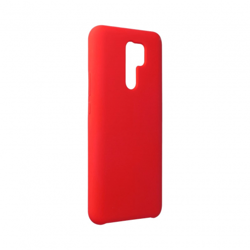 Forcell Silicone Coque Pour Xiaomi Redmi 9 Rouge