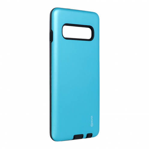 Coque Antichoc Roar© Rico Armor Pour Samsung Galaxy S10 Bleu Ciel