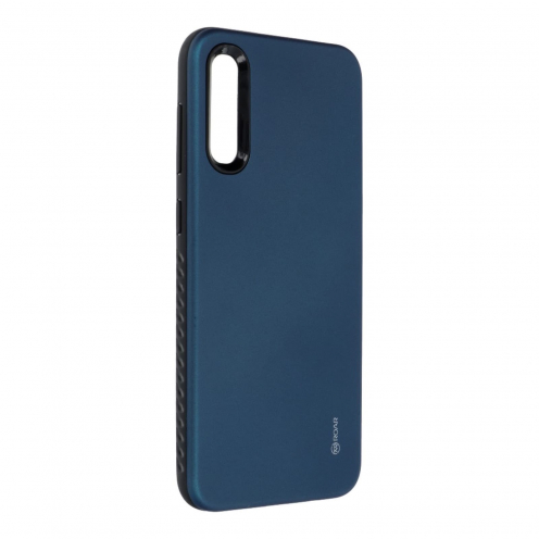 Coque Antichoc Roar© Rico Armor Pour Samsung Galaxy A50 Bleu Marine