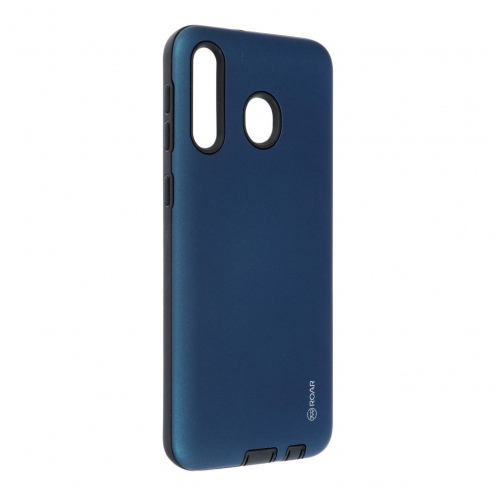 Coque Antichoc Roar© Rico Armor Pour Samsung Galaxy M30 Bleu Marine