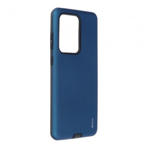 Coque Antichoc Roar© Rico Armor Pour Samsung Galaxy S20 Ultra Bleu Marine