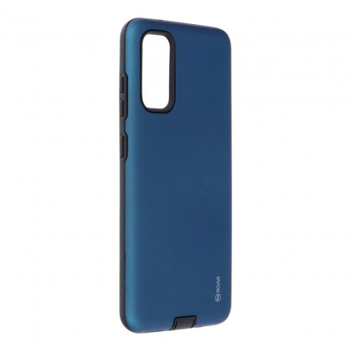Coque Antichoc Roar© Rico Armor Pour Samsung Galaxy S20 Bleu Marine