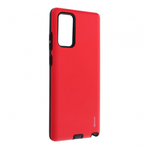 Coque Antichoc Roar© Rico Armor Pour Samsung Galaxy Note 20 Rouge