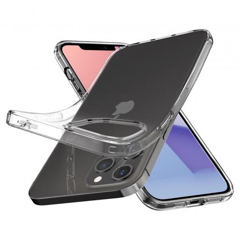 Coque Spigen® Liquid Crystal Pour iPhone 12 / 12 PRO transparent