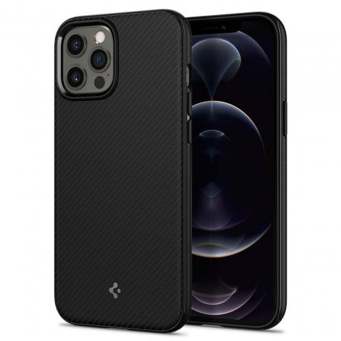 Coque Spigen® MAG ARMOR Pour iPhone 12 / 12 PRO matte Noir