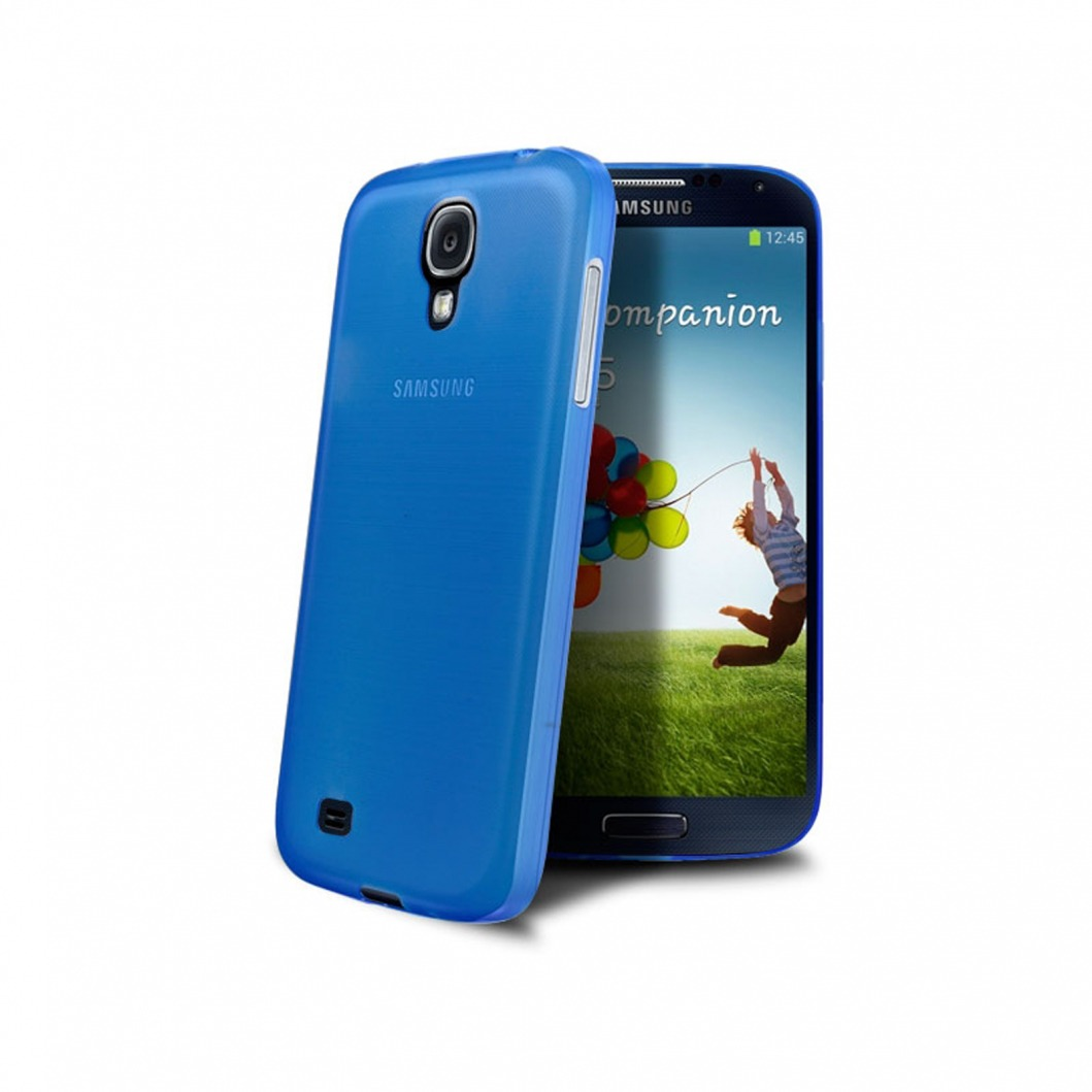 coque ultra fine frost samsung galaxy s4 bleue. Black Bedroom Furniture Sets. Home Design Ideas