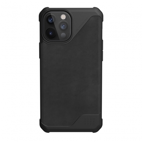 Coque Antichoc Urban Armor Gear® UAG Metropolis leather Pour iPhone 12 Pro Max Noir