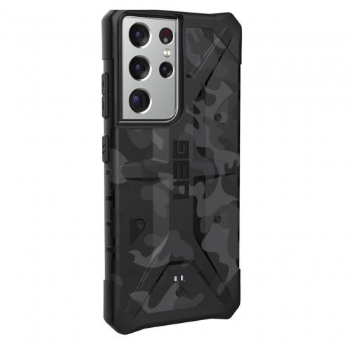 Coque Antichoc Urban Armor Gear® UAG Pathfinder Pour Samsung S21 ULTRA midnight camo