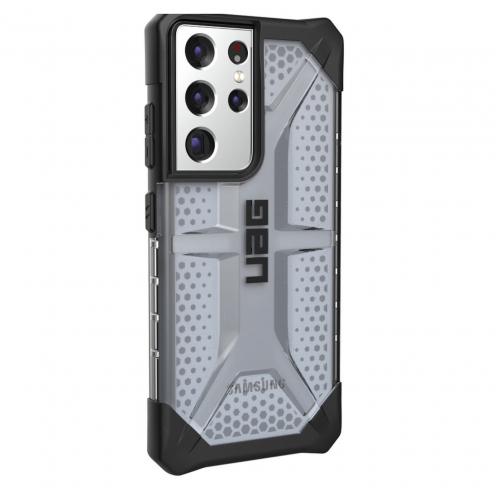 Coque Antichoc Urban Armor Gear® UAG Plasma Pour Samsung S21 ULTRA Noir transparent