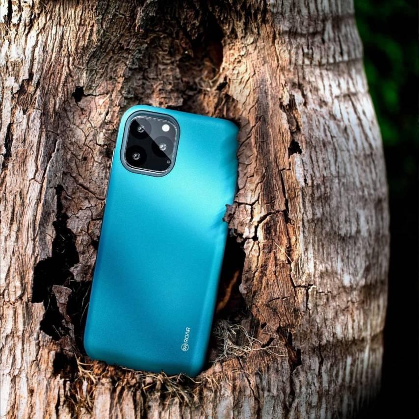 Coque Antichoc Roar© Rico Armor Pour Huawei MATE 10 Bleu Ciel