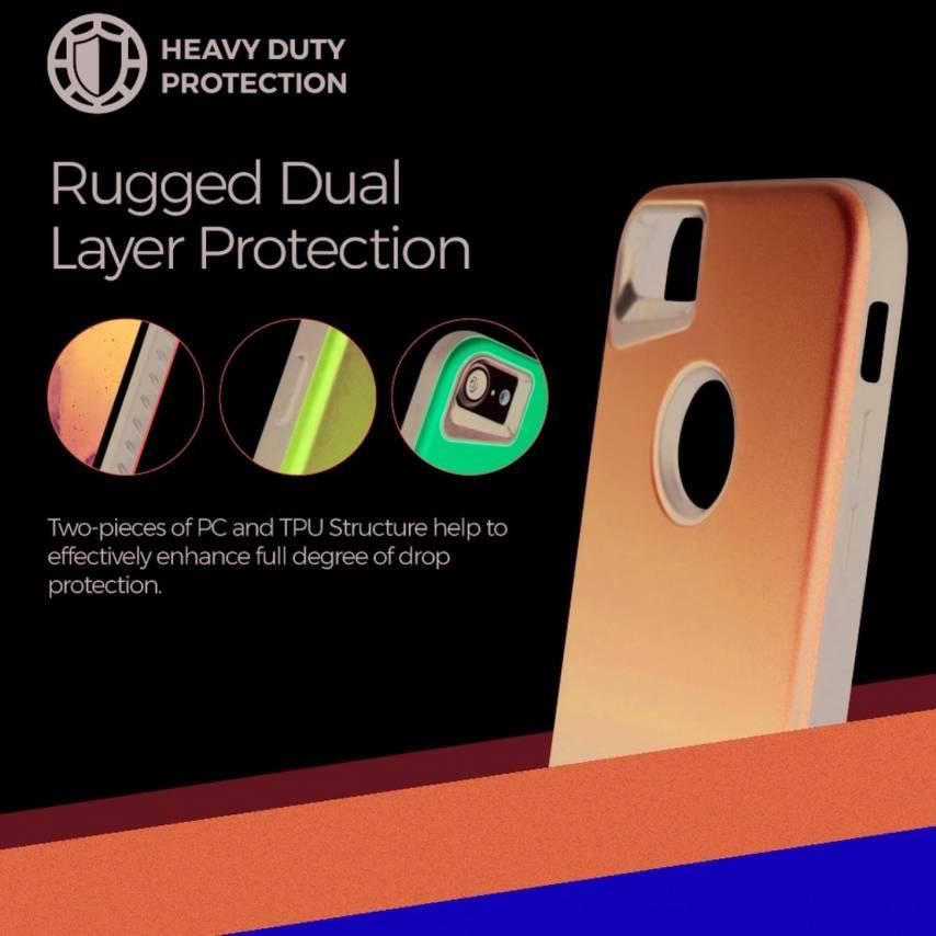 Coque Antichoc Roar© Rico Armor Pour Huawei P Smart Pro 2019 Rouge
