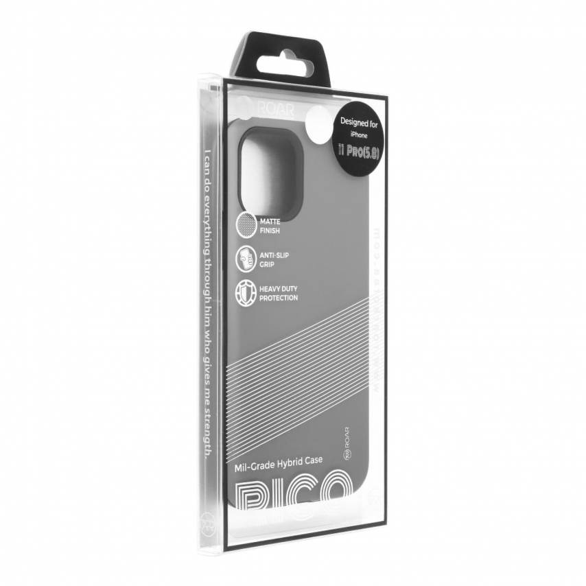Coque Antichoc Roar© Rico Armor Pour Huawei P20 Lite Gris