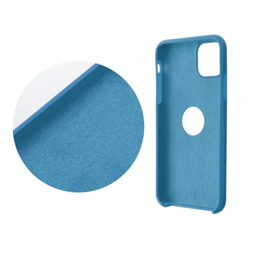 Forcell Silicone Coque Pour Huawei P Smart 2020 Bleu