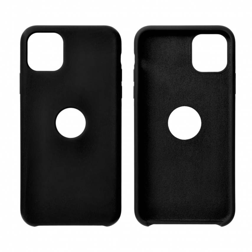 Forcell Silicone Coque Pour Huawei Y6P Noir
