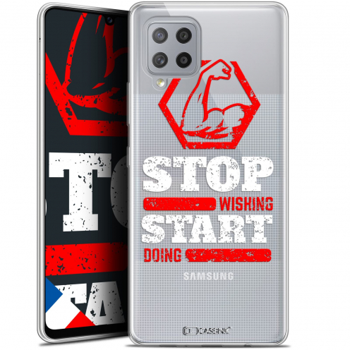 "Coque Gel Samsung Galaxy A42 5G (6.6"") Quote - Start Doing"