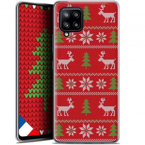 "Coque Gel Samsung Galaxy A42 5G (6.6"") Noël - Couture Rouge"