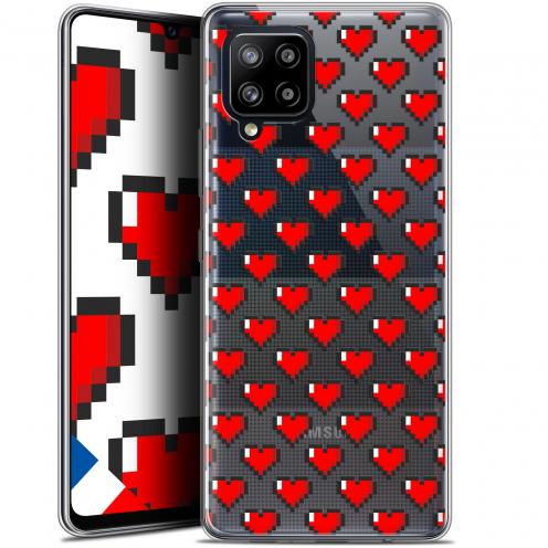 "Coque Gel Samsung Galaxy A42 5G (6.6"") Love - Pixel Art"