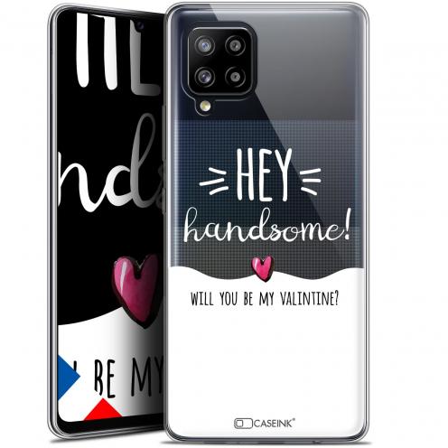 """Coque Gel Samsung Galaxy A42 5G (6.6"""") Love - Hey Handsome !"""