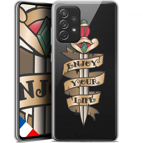 """Coque Gel Samsung Galaxy A72 4G/5G (6.7"""") Tatoo Lover - Enjoy Life"""