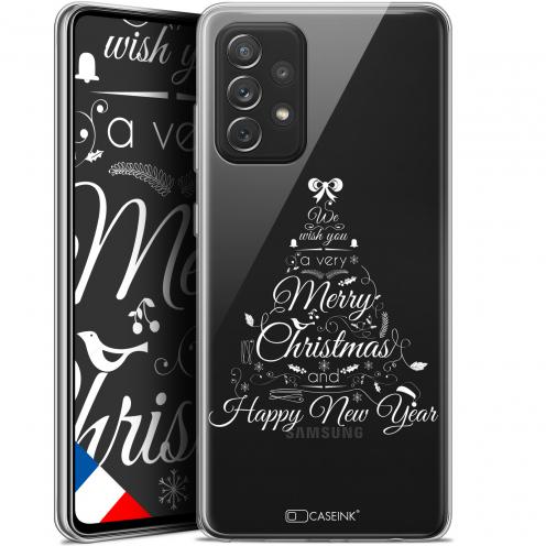 """Coque Gel Samsung Galaxy A72 4G/5G (6.7"""") Noël - Calligraphie"""