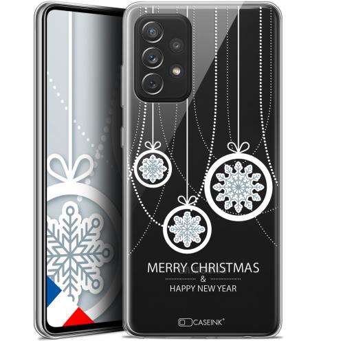 "Coque Gel Samsung Galaxy A72 4G/5G (6.7"") Noël - Christmas Balls"