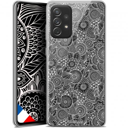"Coque Gel Samsung Galaxy A72 4G/5G (6.7"") Dentelle Florale - Blanc"