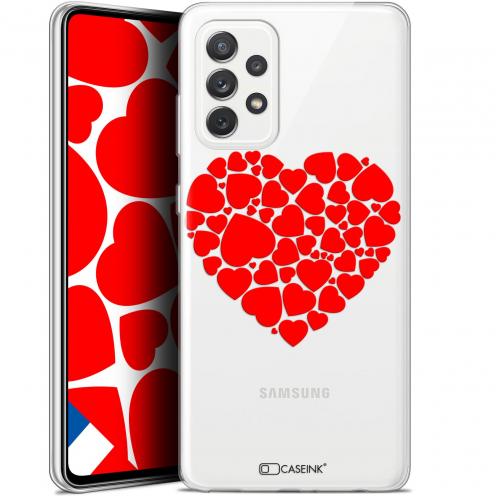 """Coque Gel Samsung Galaxy A72 4G/5G (6.7"""") Love - Coeur des Coeurs"""