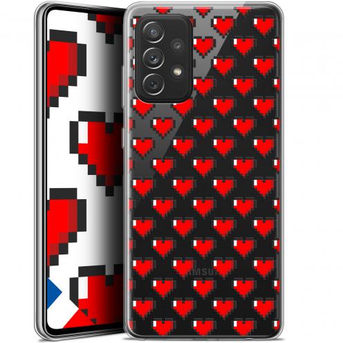 "Coque Gel Samsung Galaxy A72 4G/5G (6.7"") Love - Pixel Art"