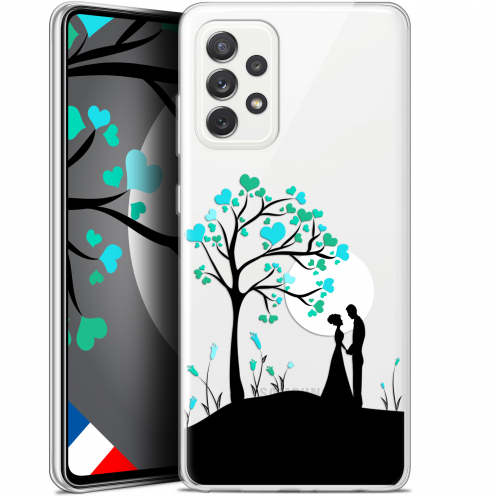 "Coque Gel Samsung Galaxy A72 4G/5G (6.7"") Love - Sous l'arbre"