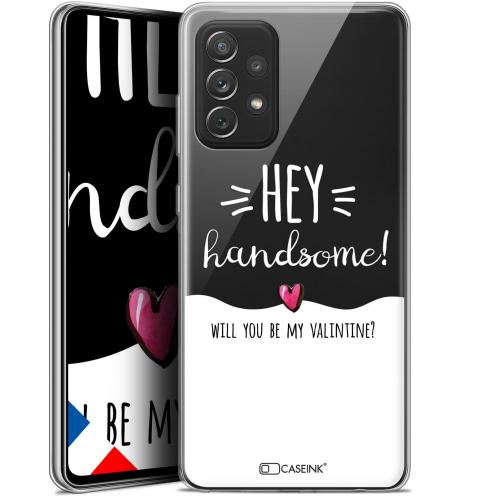 """Coque Gel Samsung Galaxy A72 4G/5G (6.7"""") Love - Hey Handsome !"""