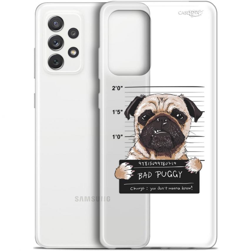 "Coque Gel Samsung Galaxy A72 4G/5G (6.7"") Motif - Beware The Puggy Dog"