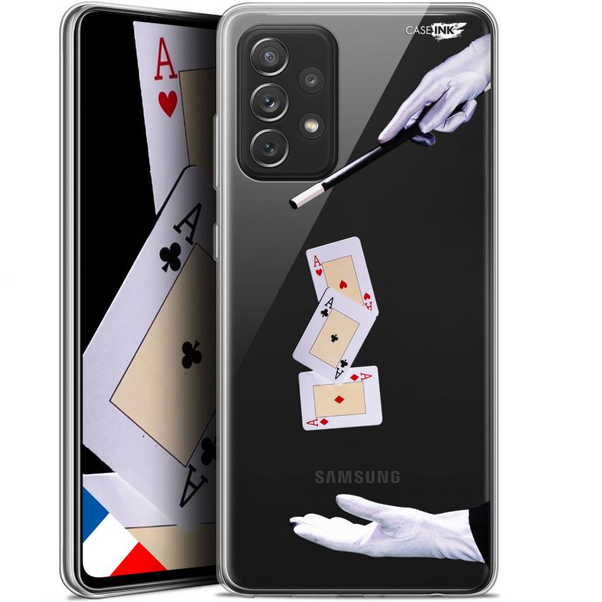 """Coque Gel Samsung Galaxy A72 4G/5G (6.7"""") Motif - Cartes Magiques"""